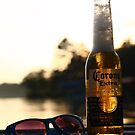 Dock Drinking by Michael Kelly