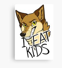 I Eat Kids Canvas Print