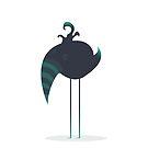 Melancholic Bird by volkandalyan
