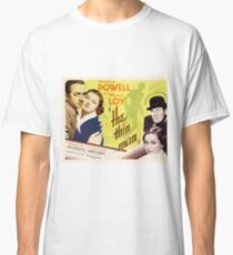 Classic Movie Poster - The Thin Man Classic T-Shirt