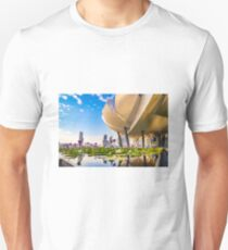 Artscience museum singapore Slim Fit T-Shirt