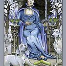 Queen of Swords, Card by WinonaCookie