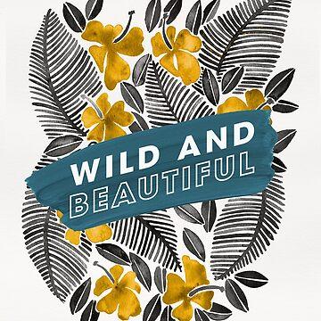 Wild & Beautiful – Yellow Palette by catcoq