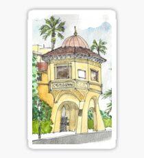 Hotel Green Pasadena Sticker