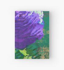Purple Ranunculus Buttercup Floral Art Hardcover Journal