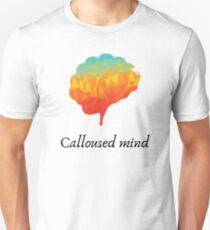 Camiseta ajustada Mente callosa