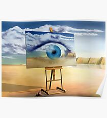 An eye with a view Poster