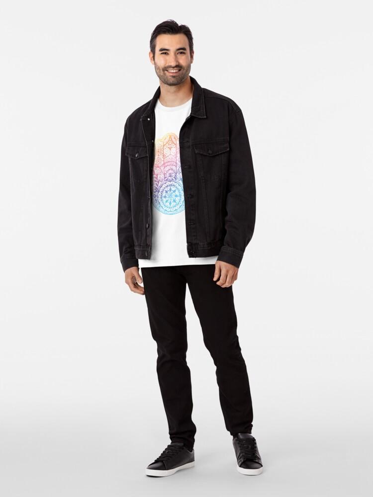 Alternative Ansicht von Regenbogen Hamsa Premium T-Shirt