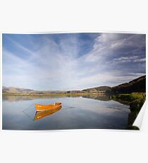 Tranquil river scene UK Poster