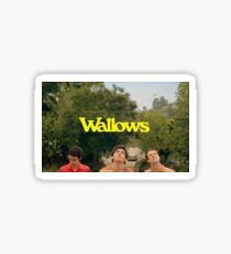 Wallows !  Sticker