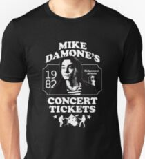 Mike Damone's Concert Tickets Slim Fit T-Shirt