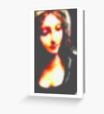 Up Close with the Madonna  Greeting Card