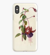 FLOWER LITHOGRAPH iPhone Case/Skin