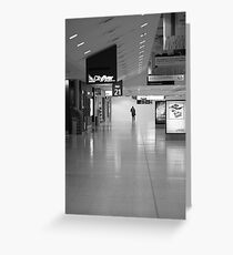 Terminal Isolation Greeting Card