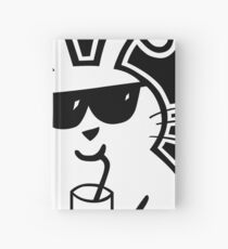 Hazi with a drink Hardcover Journal