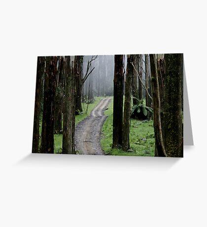 Bicentennial National Trail - Healesville end (Victoria) Greeting Card