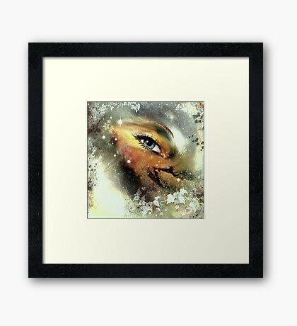 Earth's Eye Framed Print
