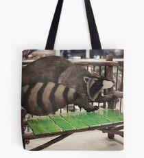 Ronny Raccoon Tote Bag