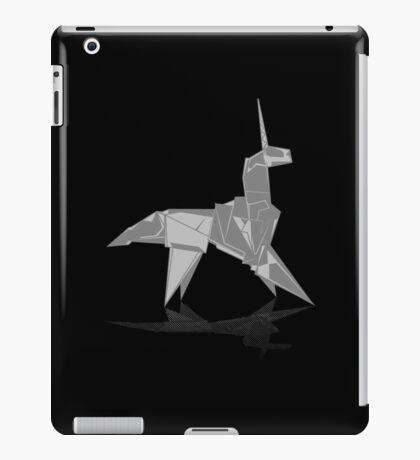 Origami Unicorn iPad Case/Skin