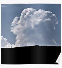 Make Clouds Friends Poster