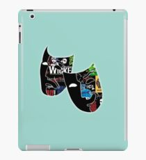 Theatre Masks Collage iPad Case/Skin