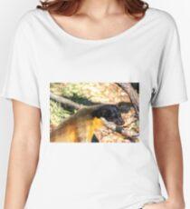 Yellow-Throated Marten Women's Relaxed Fit T-Shirt