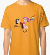 Funny siamese twins fairies. Classic T-Shirt