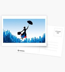 Mary Poppins Cartes postales