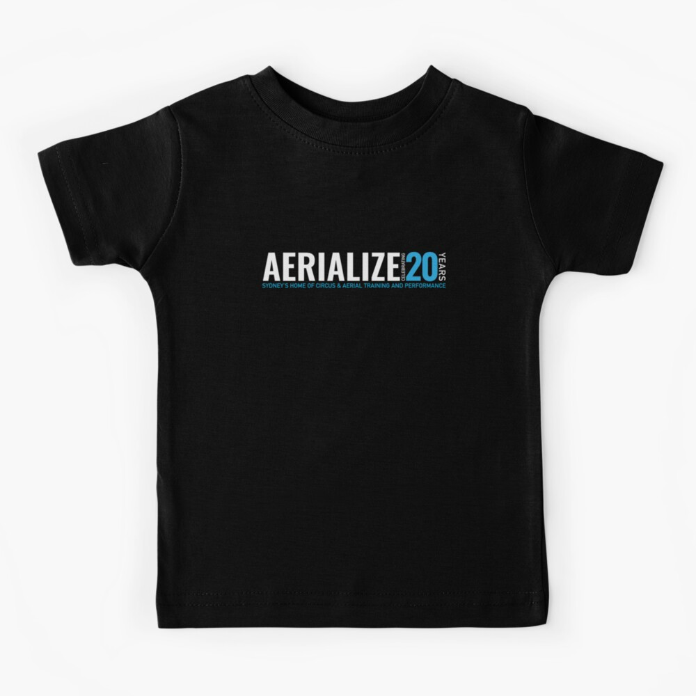 Aerialize Official 20th anniversary Merchandise Kids T-Shirt