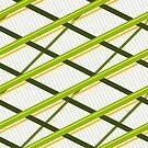 Deco Stripes Avacado by Eric Pauker