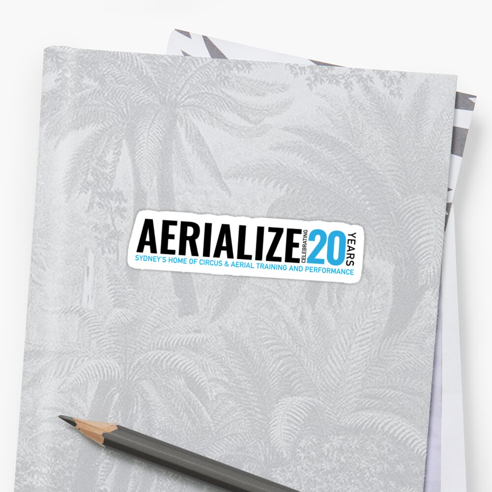 Aerialize Official 20th anniversary Merchandise Sticker