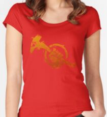 Red Faction Guerrilla Women's Fitted Scoop T-Shirt