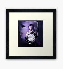 Clocks : the time Framed Print