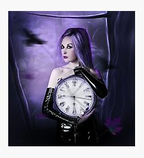 Clocks : the time Photographic Print
