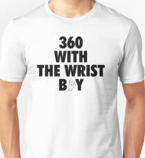 360 With The Wrist Boy | Black T-Shirt