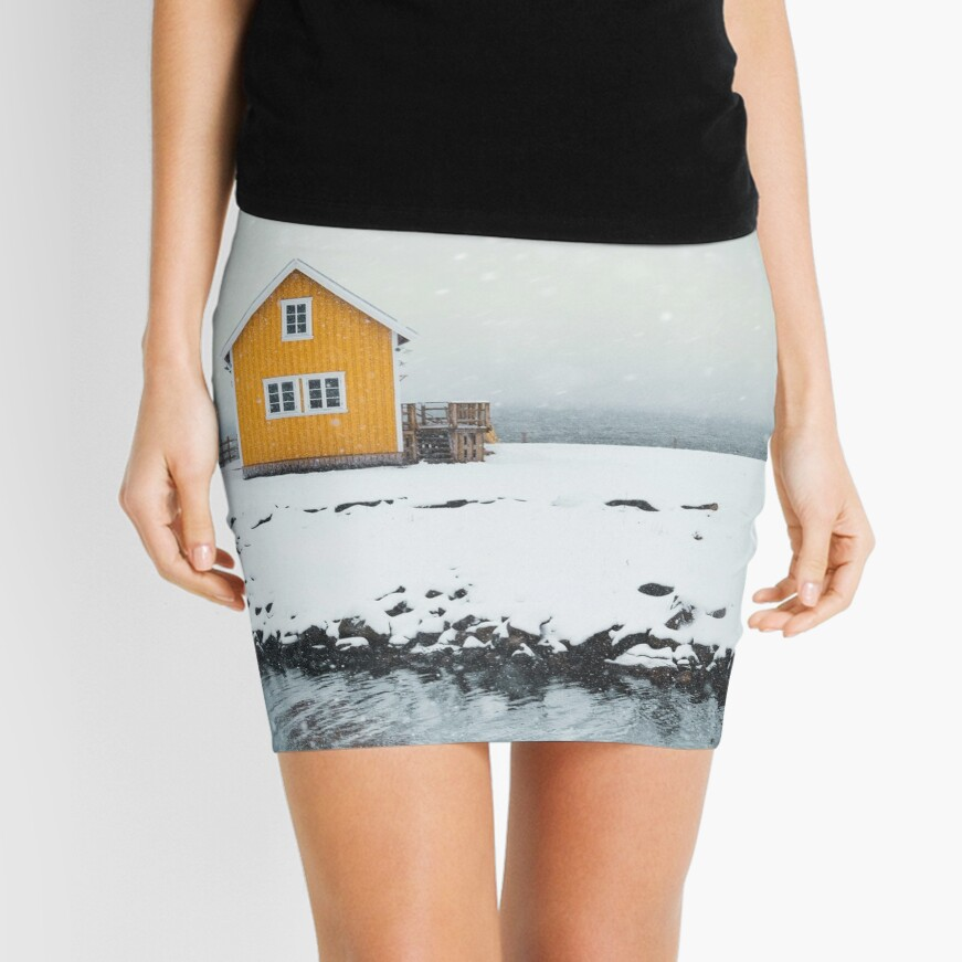 Falling Softly Mini Skirt