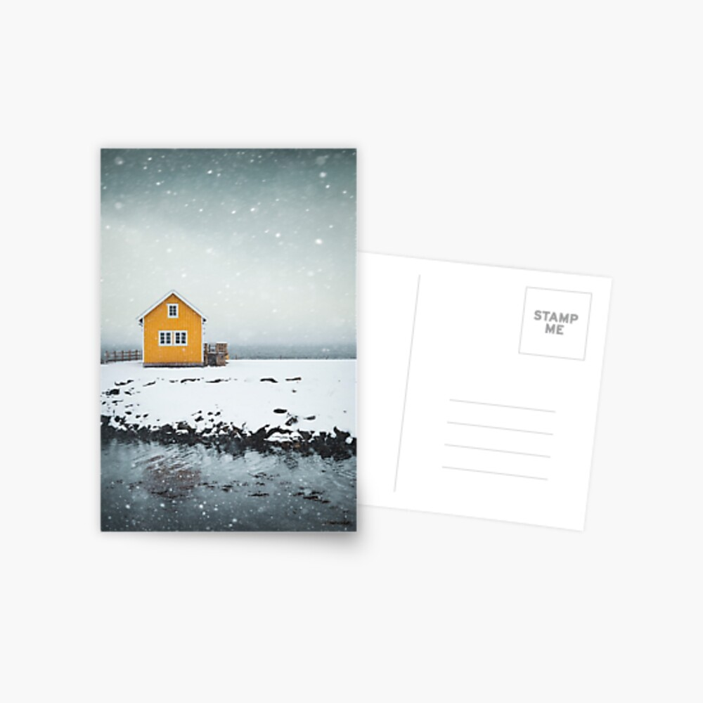 Falling Softly Postcard