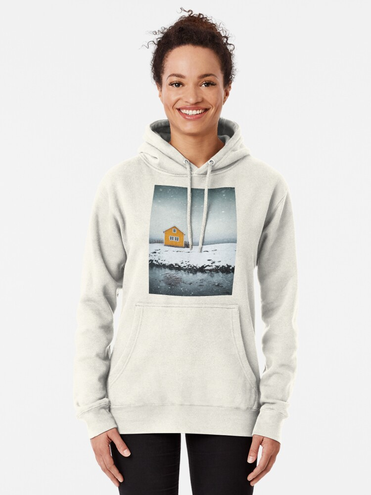 Alternate view of Falling Softly Pullover Hoodie