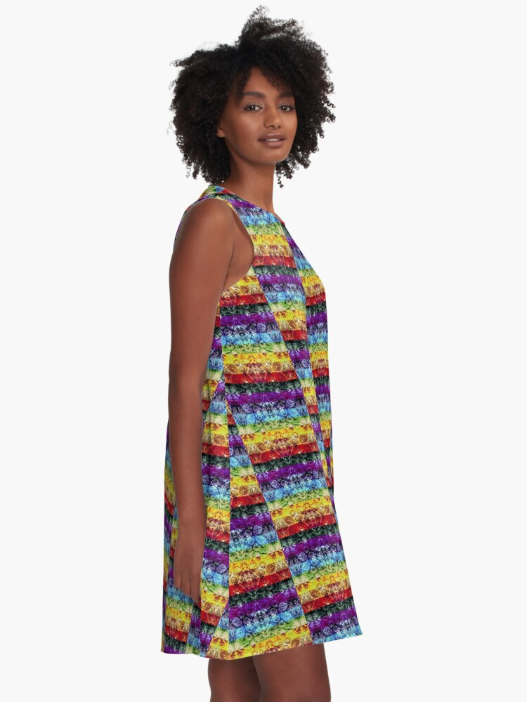 Alternate view of Zen  A-Line Dress