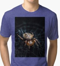 Spider on the Web  Tri-blend T-Shirt