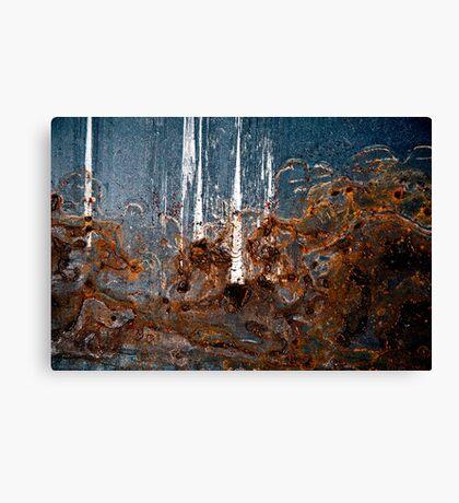 Raging Elephant Canvas Print