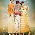 Three of Cups by Catrin Welz-Stein