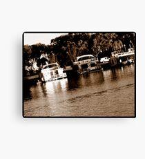 HouseBoats Canvas Print