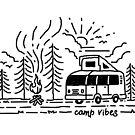 «Campamento Vibes (para Luz)» de Quilimo Studio