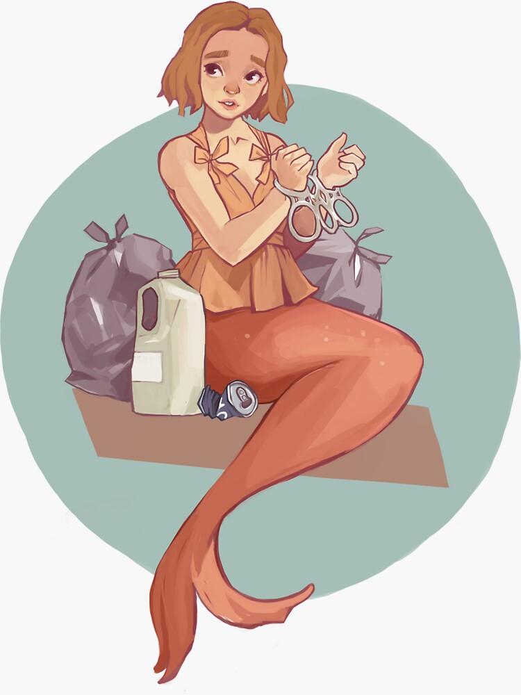 Mermay - Mermaid vs Pollution by ajams