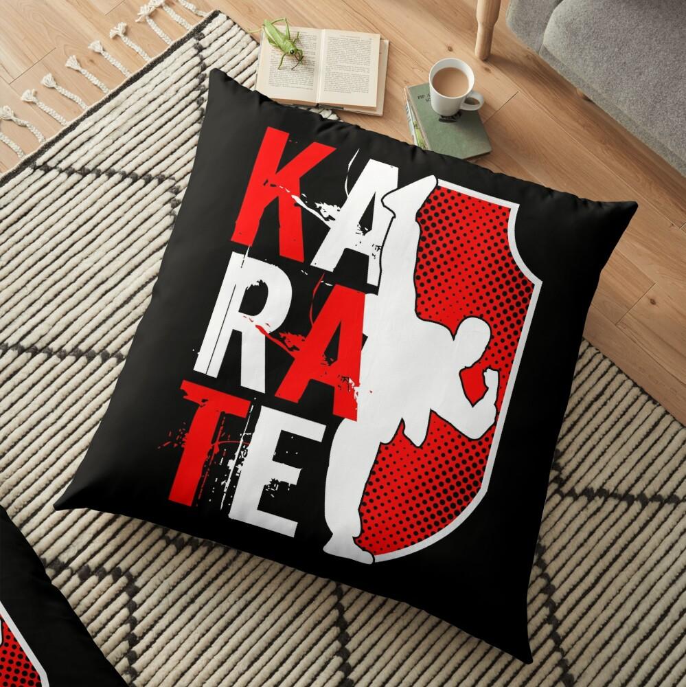Karate Master Teacher Sports Gift Bodenkissen