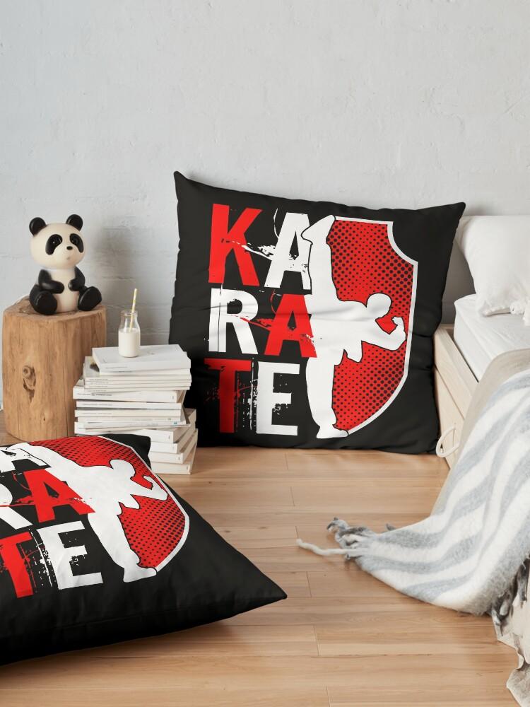 Alternative Ansicht von Karate Master Teacher Sports Gift Bodenkissen