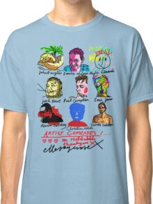 Artist Comrades I... Love Love Love on Red Bubble Classic T-Shirt