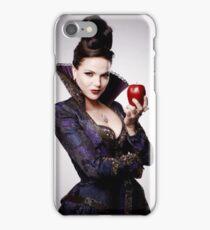 Regina Mills as The Evil Queen with apple iPhone Case/Skin