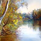 Wattle Time - Goulburn River by Lynda Robinson